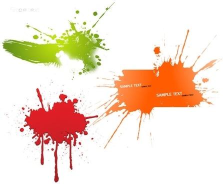 dynamic fashion ink vector