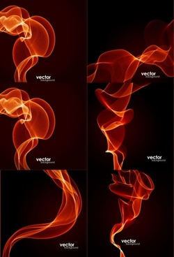 dynamic fire lines vector