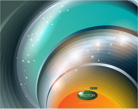 dynamic flare background colorful vector