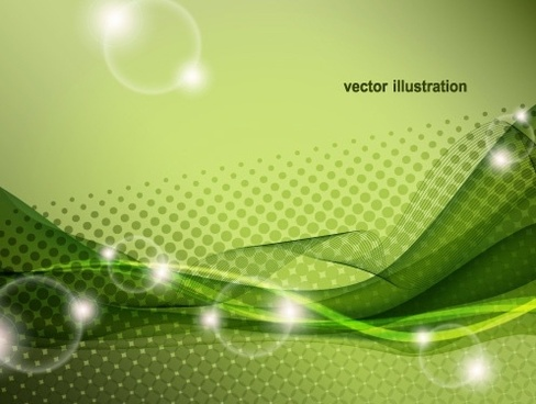 dynamic flare background vector