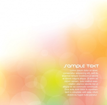 bokeh background template modern shining vivid decor