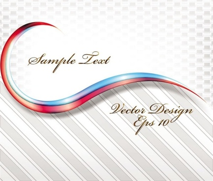 dynamic flow line background 01 vector