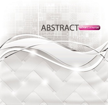dynamic flow line background 03 vector