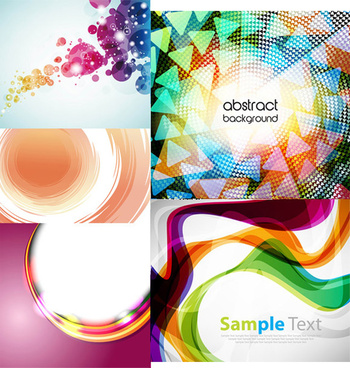 dynamic flow line backgrounds vector graphic
