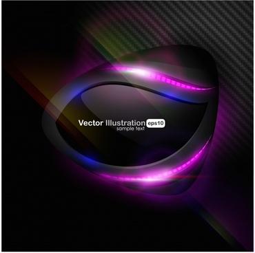 dynamic flow line bright glare vector