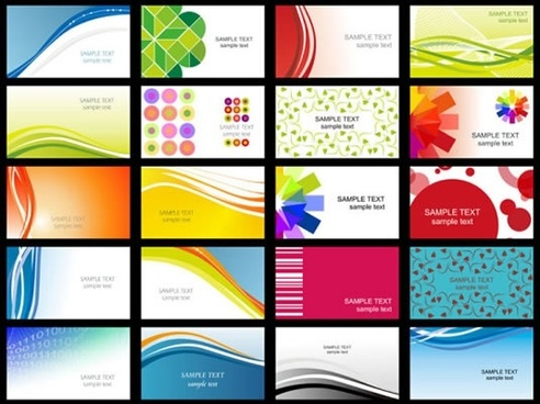 Vector Business Card Template Cdr Free