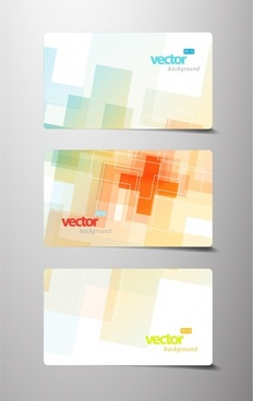dynamic flow line business card vector