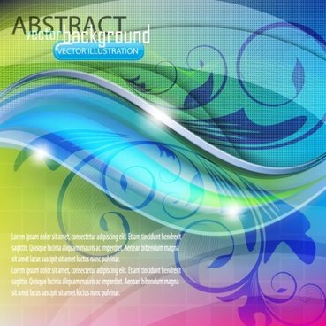 dynamic flow line pattern 01 vector