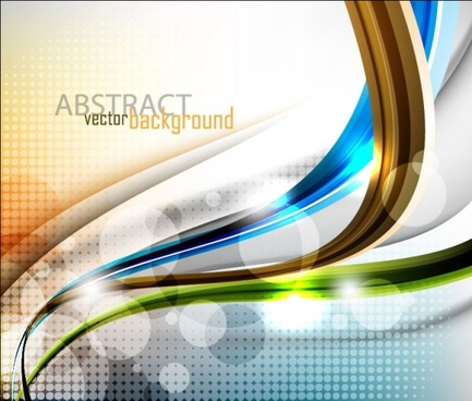 dynamic flow line pattern 02 vector