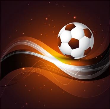 dynamic flow line vector football