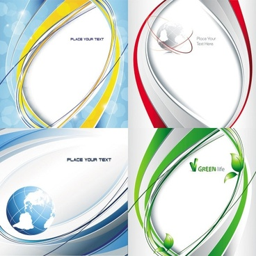 dynamic flow of lines background vector