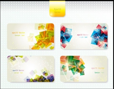 dynamic gorgeous card background 02 vector