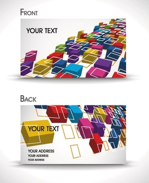 dynamic gorgeous card background 04 vector