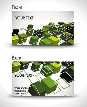 dynamic gorgeous card background 05 vector