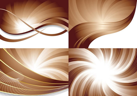 dynamic helical line background vector