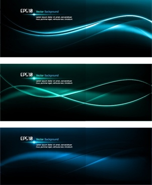 decorative background templates glossy curved light decor