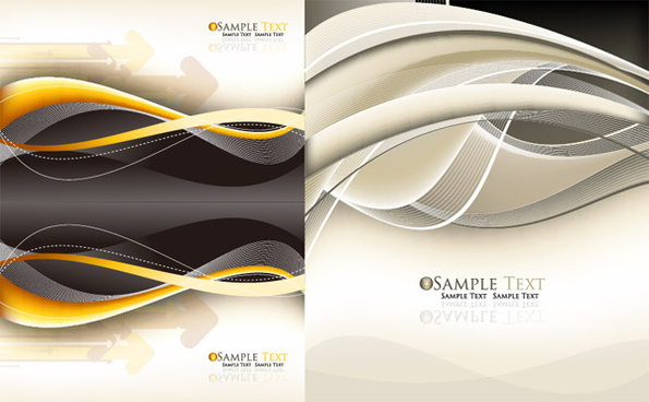 dynamic line arrow background vector graphic
