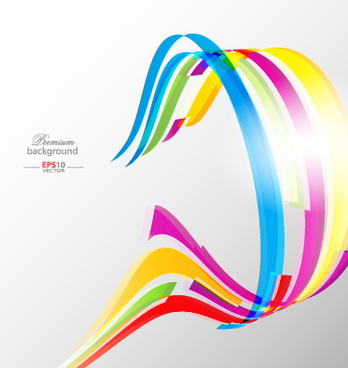 dynamic lines abstract background design vector