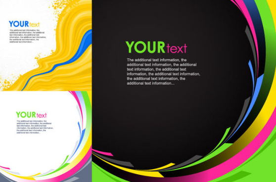 dynamic lines background design elements