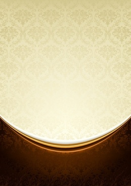 decorative background elegant golden decor classical pattern