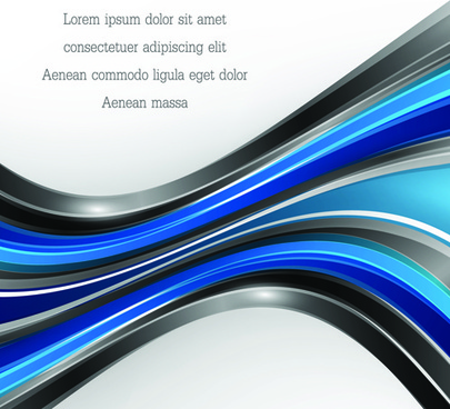 dynamic lines colored wavy background art vector