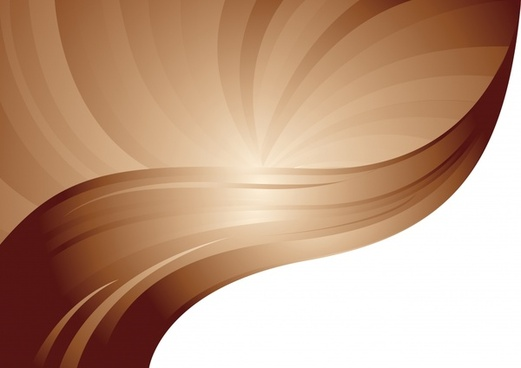 decorative background modern sparkling brown dynamic curves