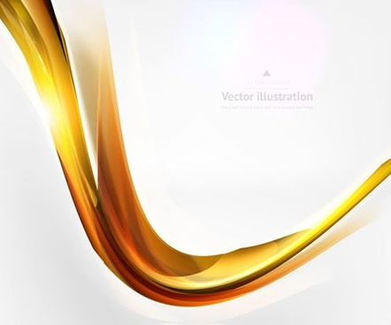 decorative background modern shiny 3d curve
