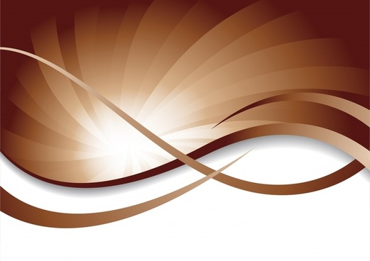 decorative abstract background shiny dynamic brown white swirl