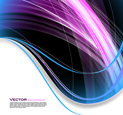dynamic lines shiny background vector