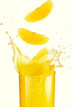 dynamic orange juice highdefinition picture