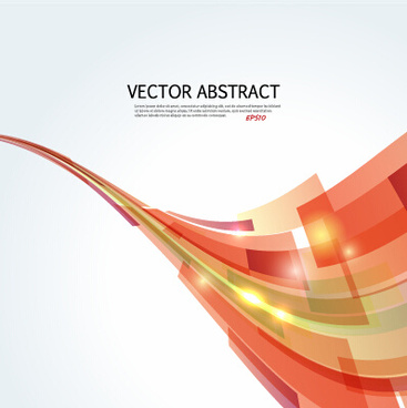 dynamic shapes abstract background vector