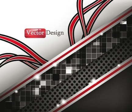 dynamic technology background 03 vector