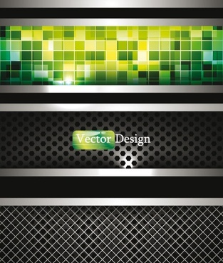 dynamic technology background 04 vector
