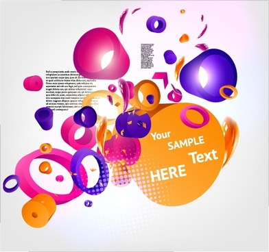 dynamic threedimensional background vector