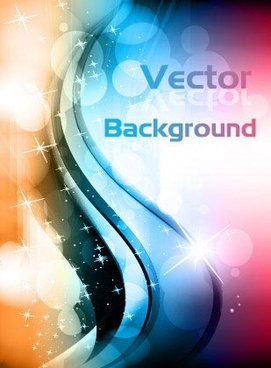 decorative background colorful bokeh design sparkling curves decor