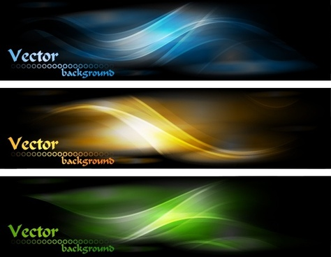 decorative backgrounds modern colored shiny curved motion