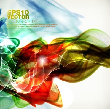 dynamic watercolor vector backgrounds