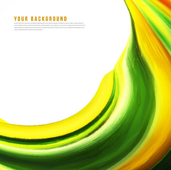 dynamic wavy gloss background vector
