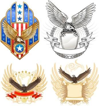 eagles theme vector