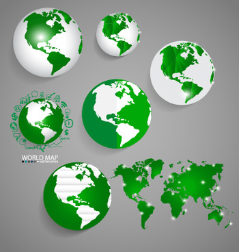 World map free vector download 3586 free vector for commercial earth and world map vector design gumiabroncs Gallery