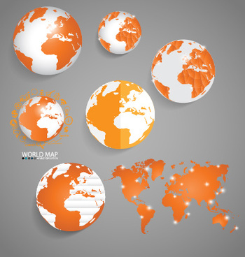 World map free vector download 3583 free vector for commercial earth and world map vector design gumiabroncs Image collections