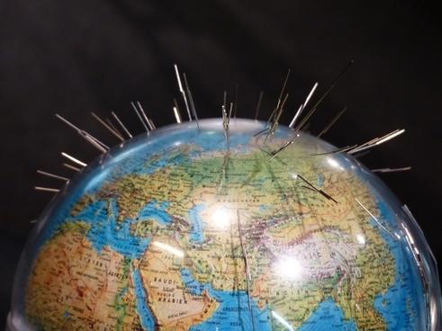 earth globe magnetism
