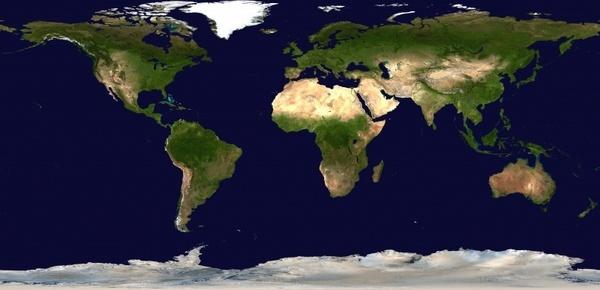 earth nasa map