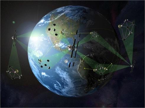 earth space satellites