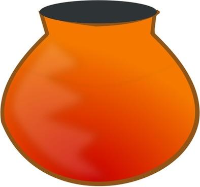 earthen pot
