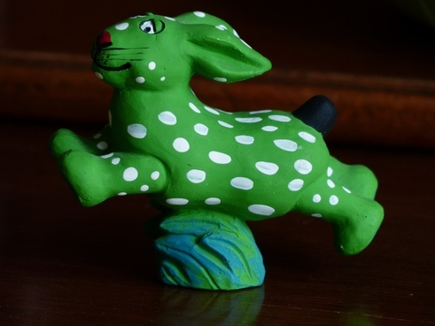 easter bunny funny green