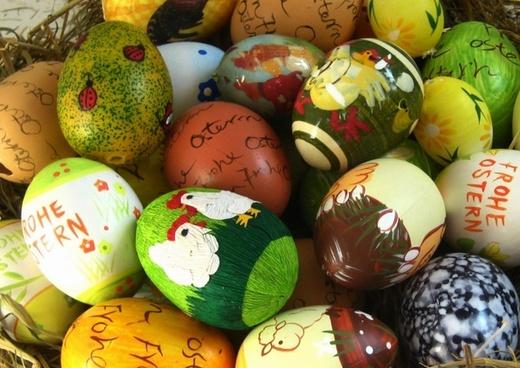 easter eggs easter paint
