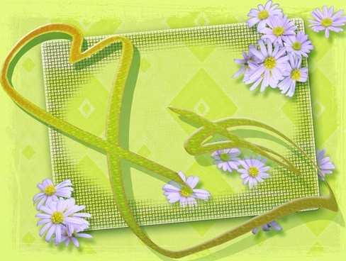 easter heart welcome
