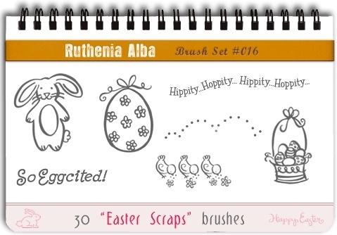 Easter Scraps