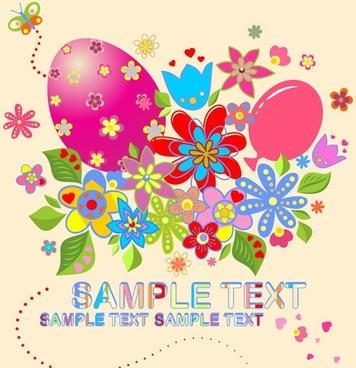 Easter Vector Illustration